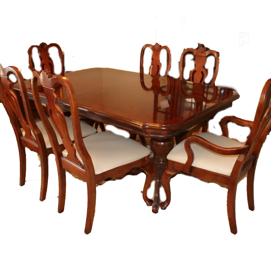Lexington Dining Room Furniture: Lexington Cherry Dining Table And Chairs