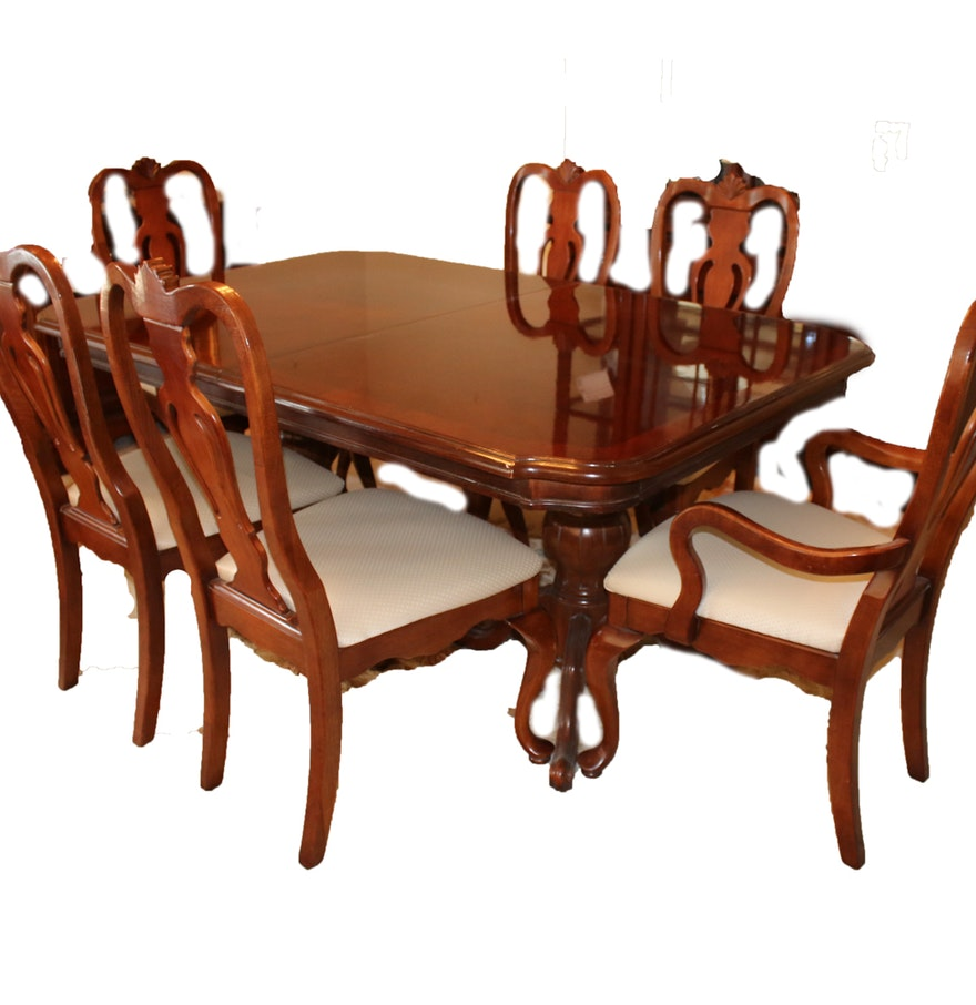 Lexington Dining Room Furniture: Lexington Cherry Dining Table And Chairs : EBTH