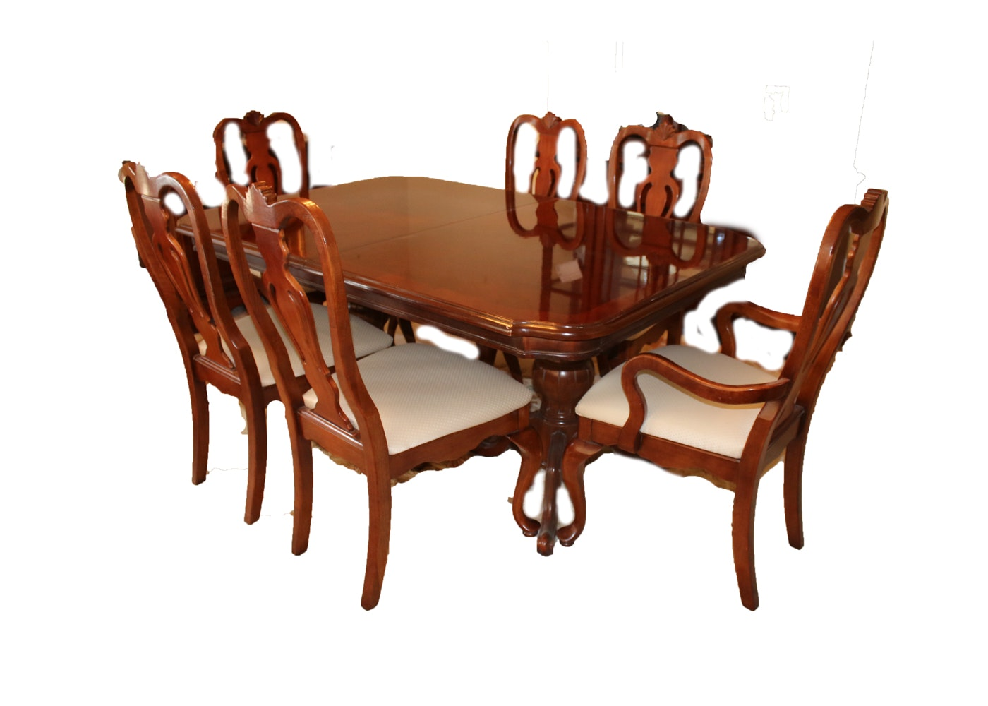 Lexington Cherry Dining Table And Chairs ...