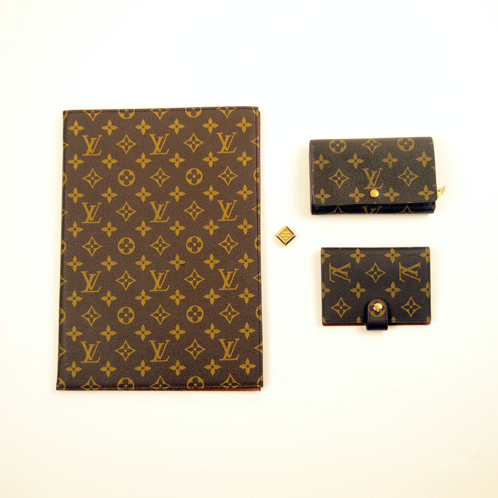 Louis Vuitton Wallets, Cuff Link and Paper Holder