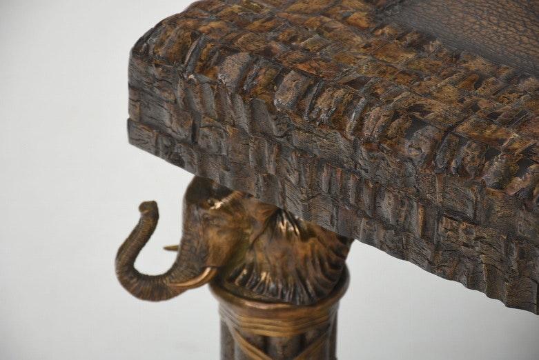 Maitland Smith Elephant Coffee Table Ebth
