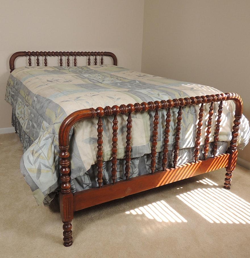 Full Size Bed Frame Mattress Set