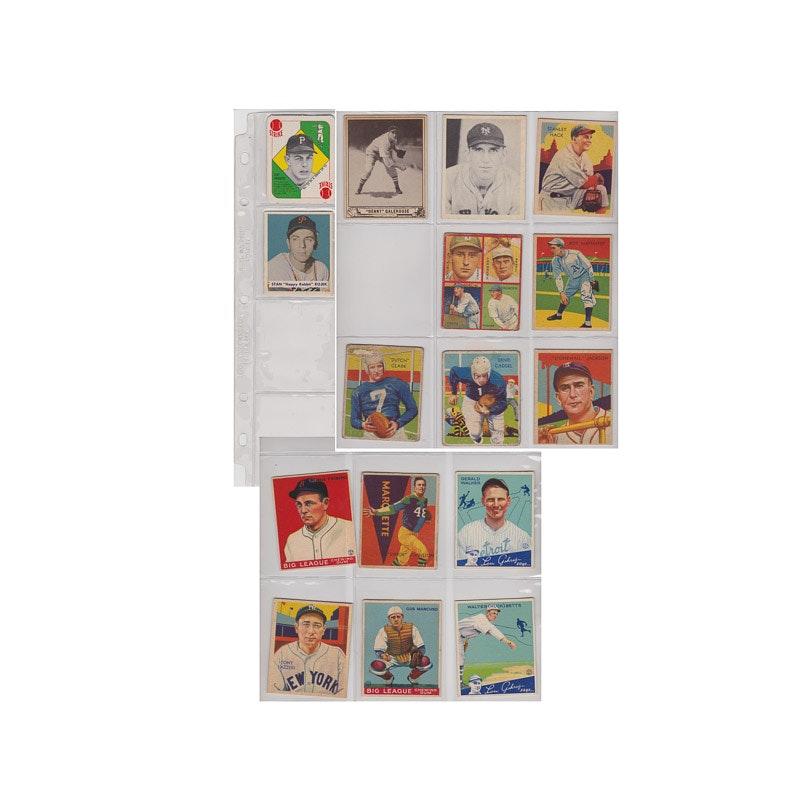 1930-1950s Baseball Cards