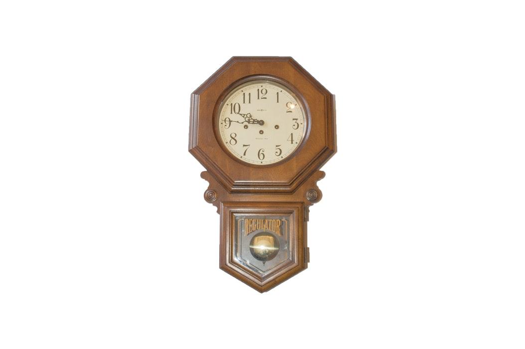 howard miller regulator schoolhouse wall clock