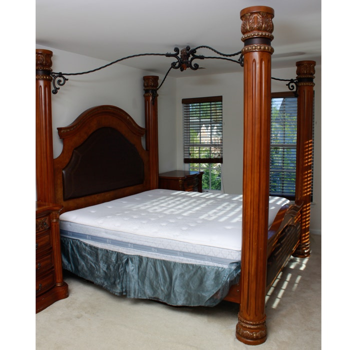Canopy Beds King Size King Size Canopy Bed Frame Black