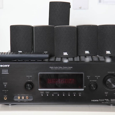 Sony Receiver and Speakers
