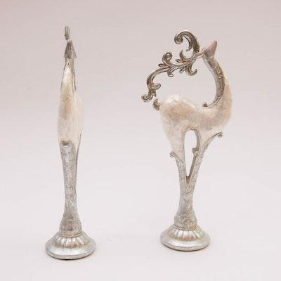 Pair of Reindeer Figurines