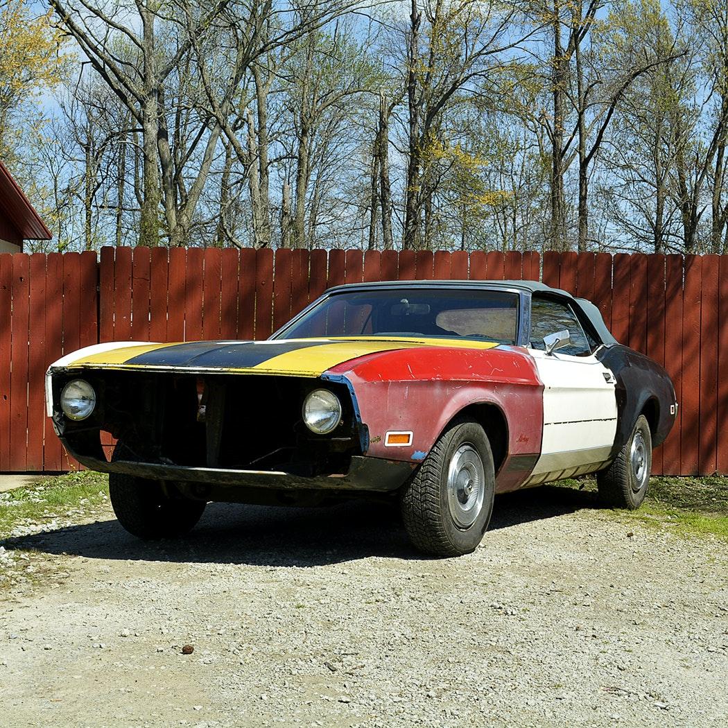 1973 Mustang Soft Top Convertible