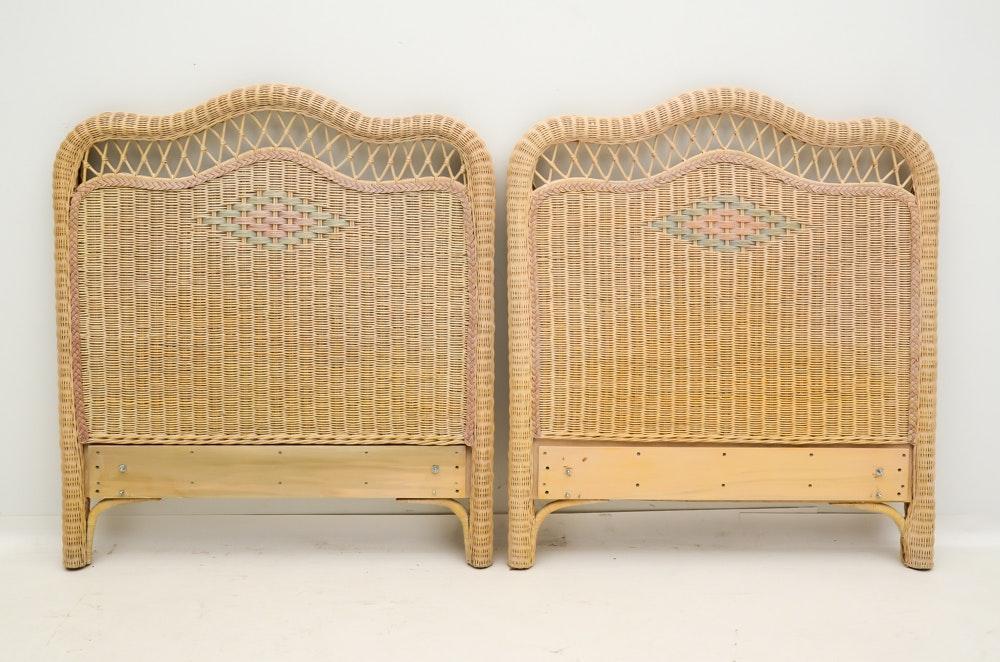 Pair Of Lexington Furniture Quot Henry Link Quot Twin Bed