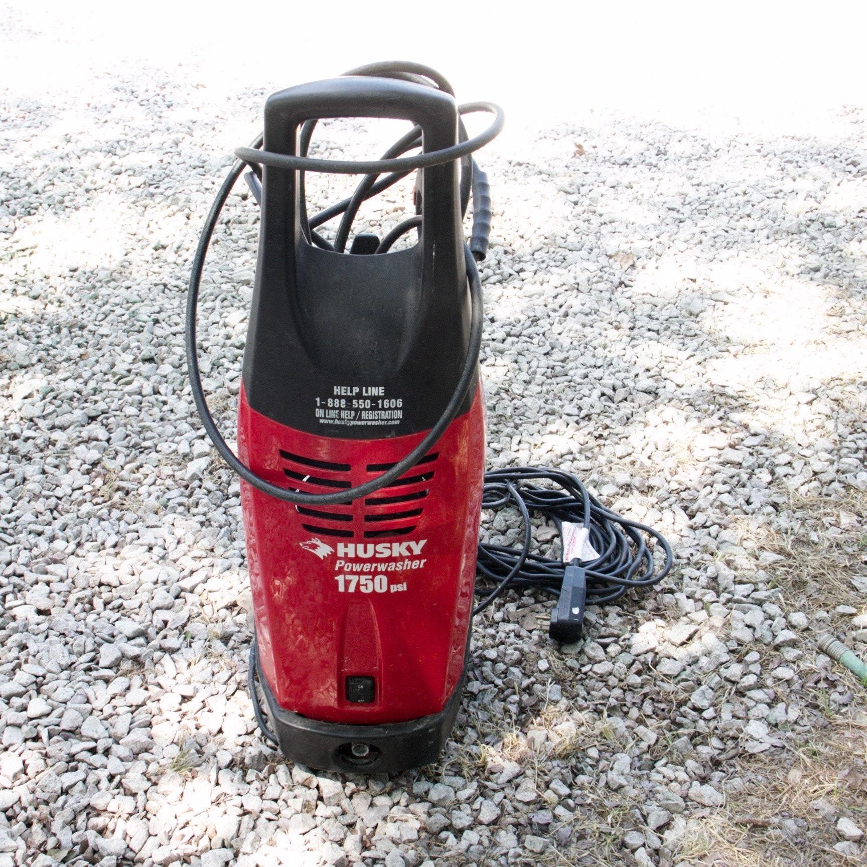 Husky Power Washer 1750 Ebth