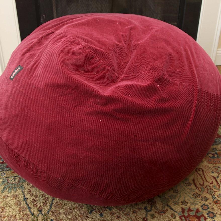 Brilliant Cordaroy Bean Bag Chair Queen Size Sleeper Dailytribune Chair Design For Home Dailytribuneorg
