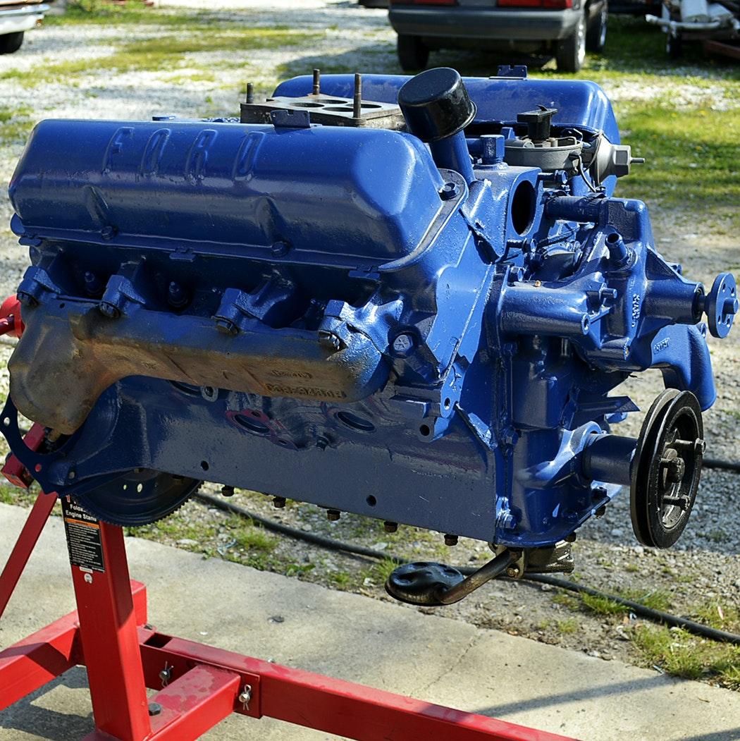 390 Ford Engine Motor
