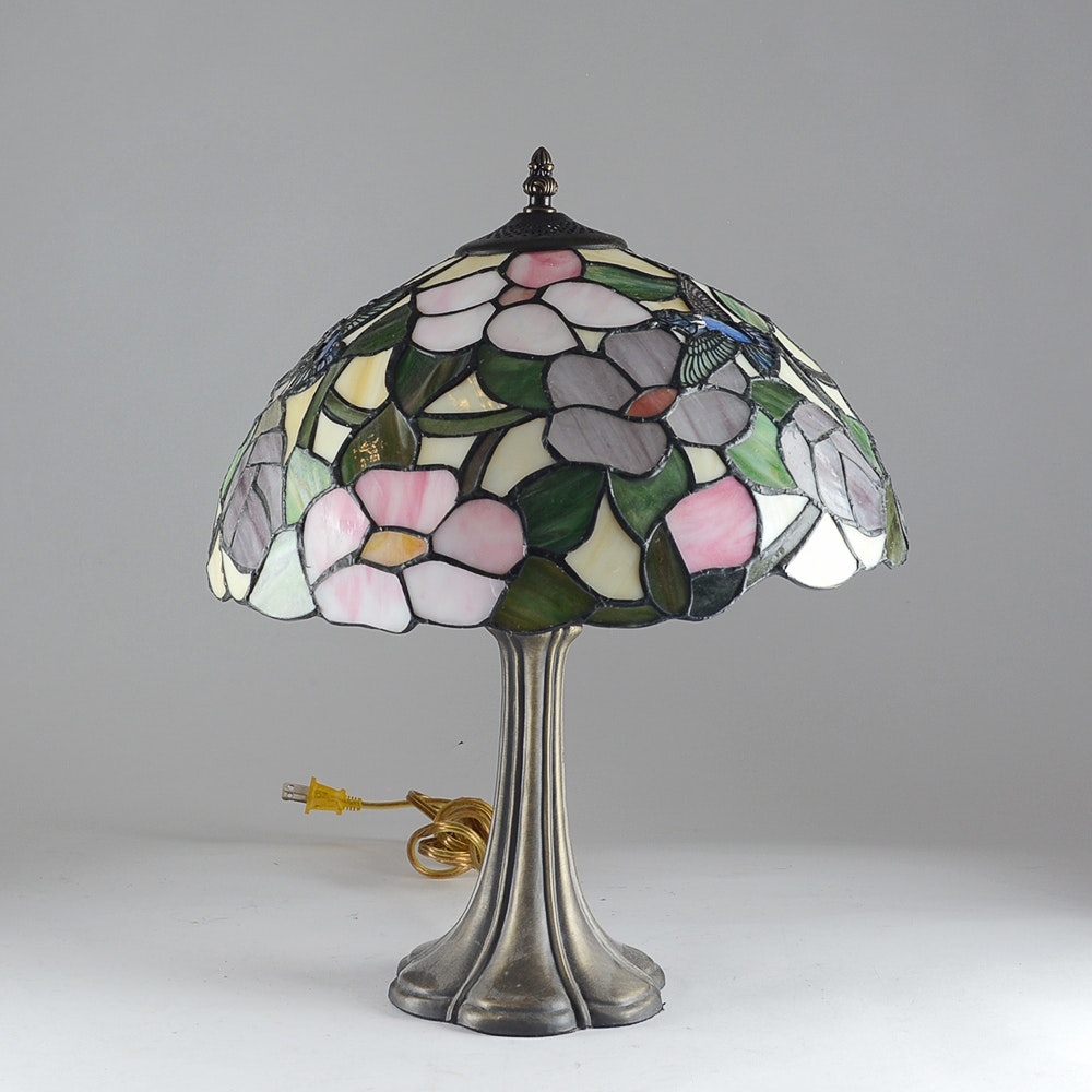 Stained Glass Style Table Lamp