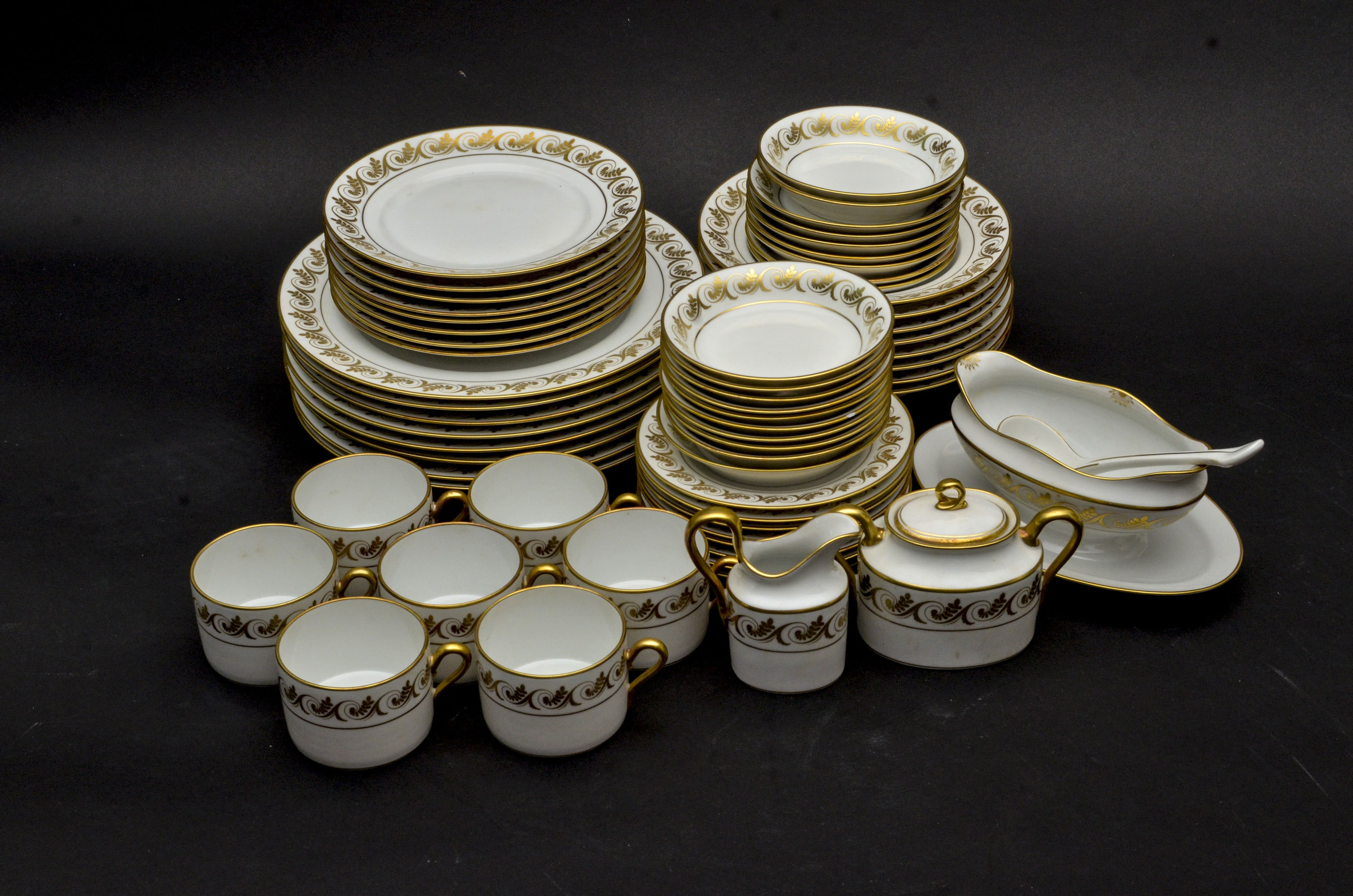 Richard Ginori Italian Dinner Set ... & Richard Ginori Italian Dinner Set : EBTH