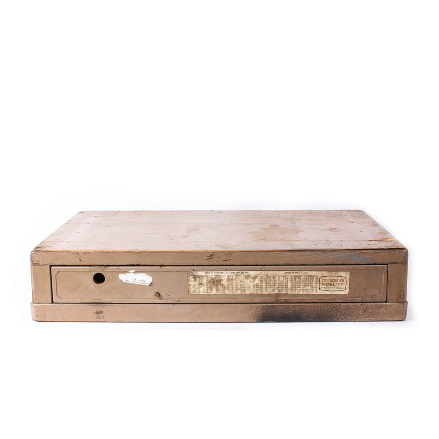 Vintage Wooden Cash Drawer
