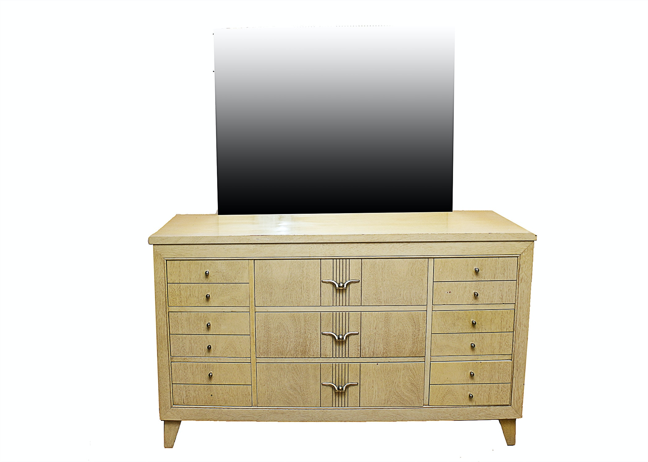 L A Period Furniture C 1950s Mid Century Dresser And