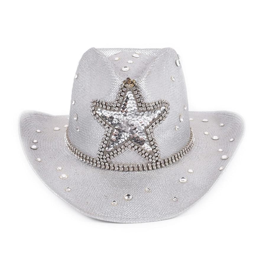 Paul Harris Rhinestone Cowboy Hat   EBTH 705e5a72ab4