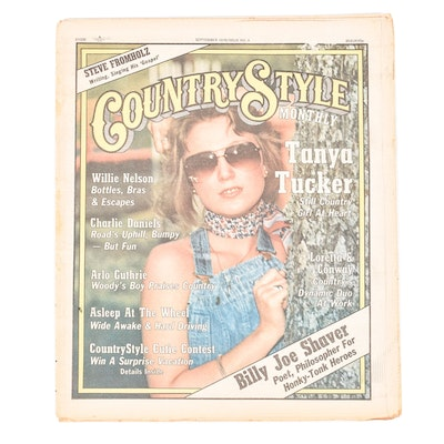 """September, 1976 Issue No. 4 of """"Country Style Monthly"""""""