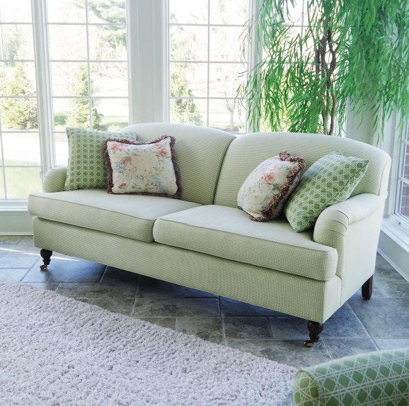 Century Furniture Gingham Sofa