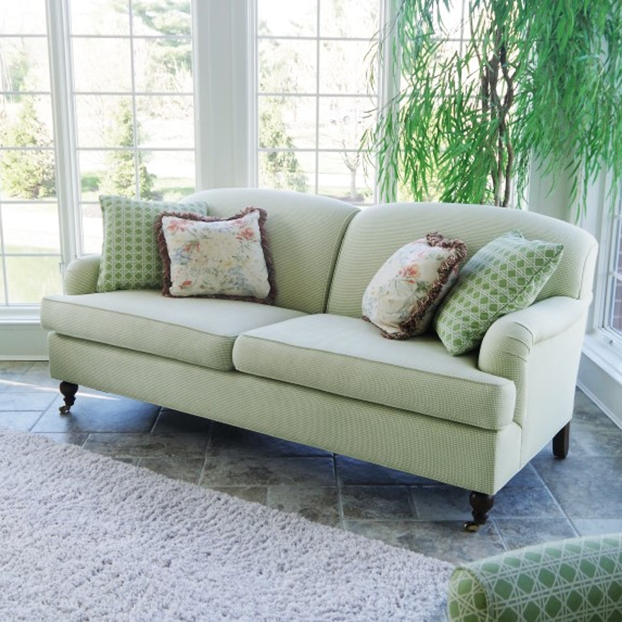 Gingham Sofa Baci Living Room