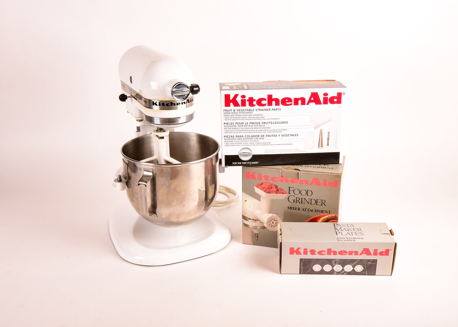 Contemporary Kitchenaid K5ss Attachments Mixer Not Included ...