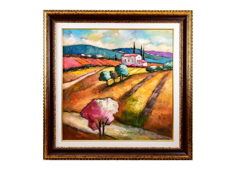 Slava Brodinsky Oil on Canvas Painting