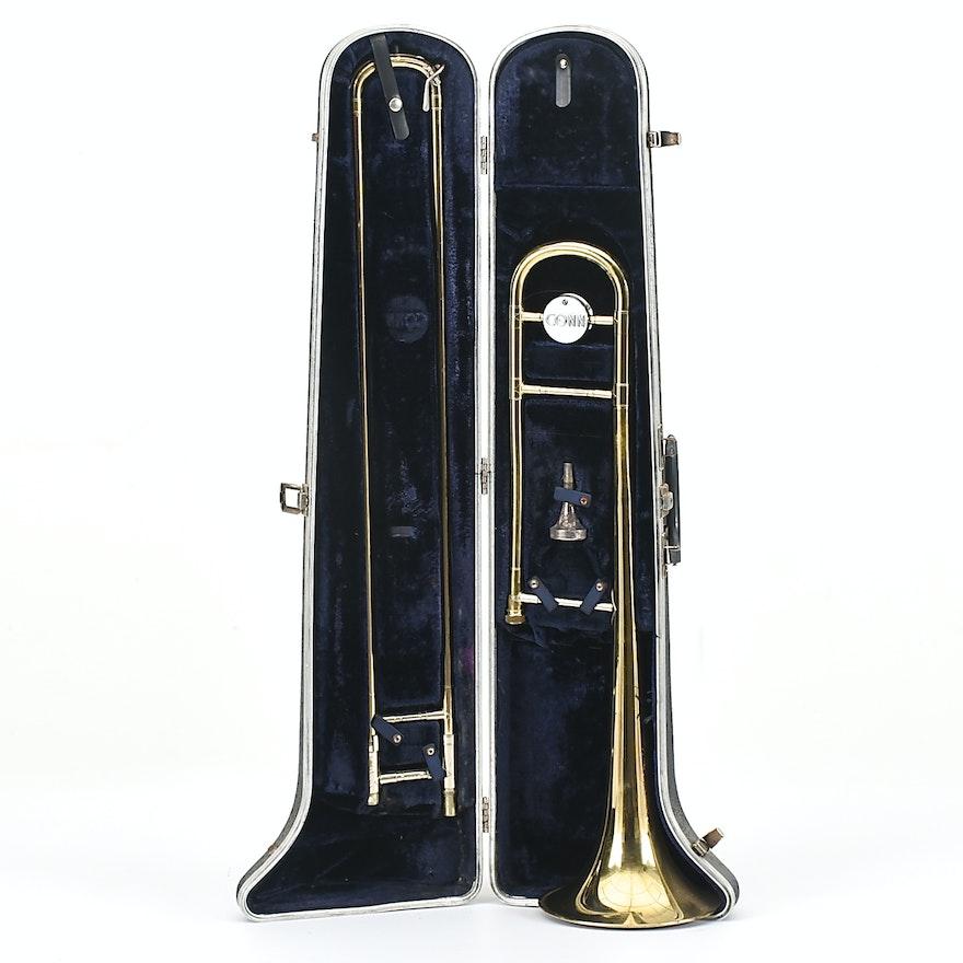 Conn 14H Director Brass Trombone