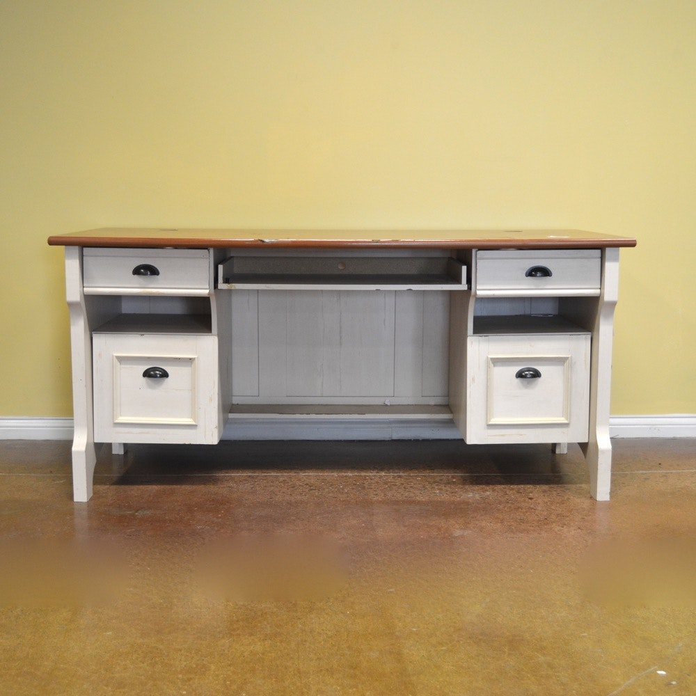 Christopher Lowell Desk With Hutch