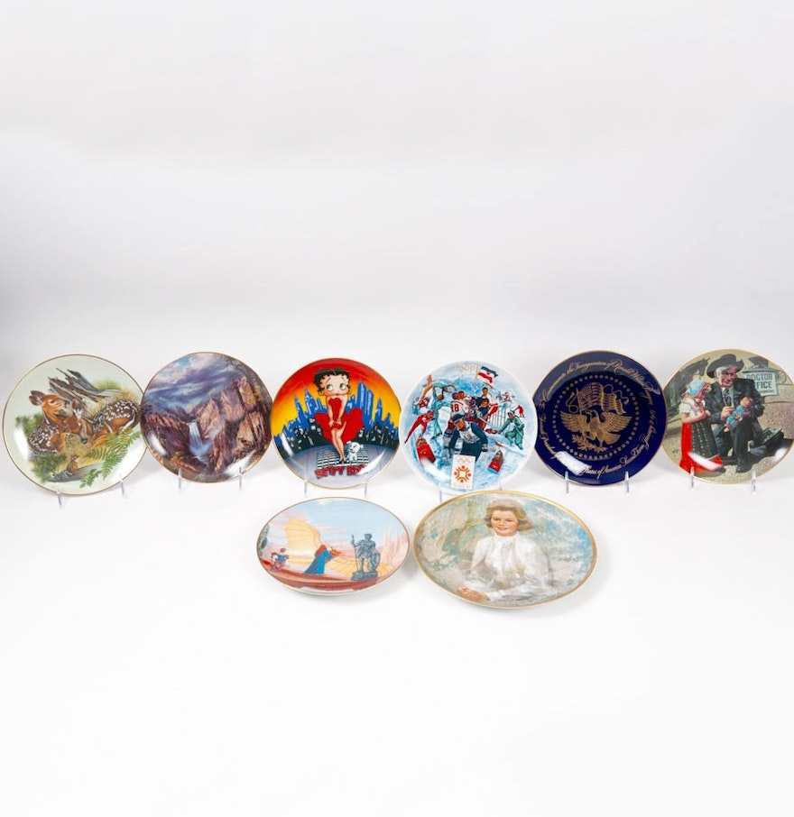Nature S Heritage Collector Plates