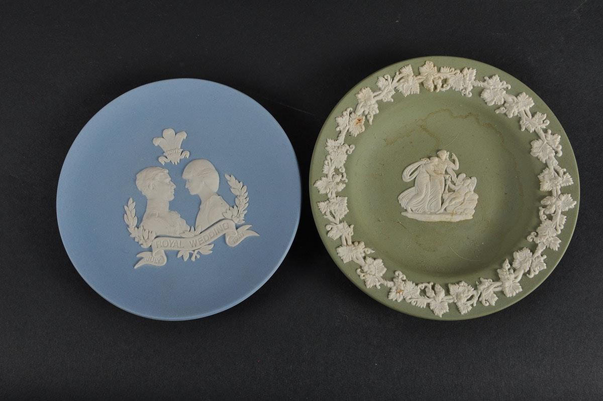 Vintage Belleek Ireland Lennox And Wedgwood China Pieces