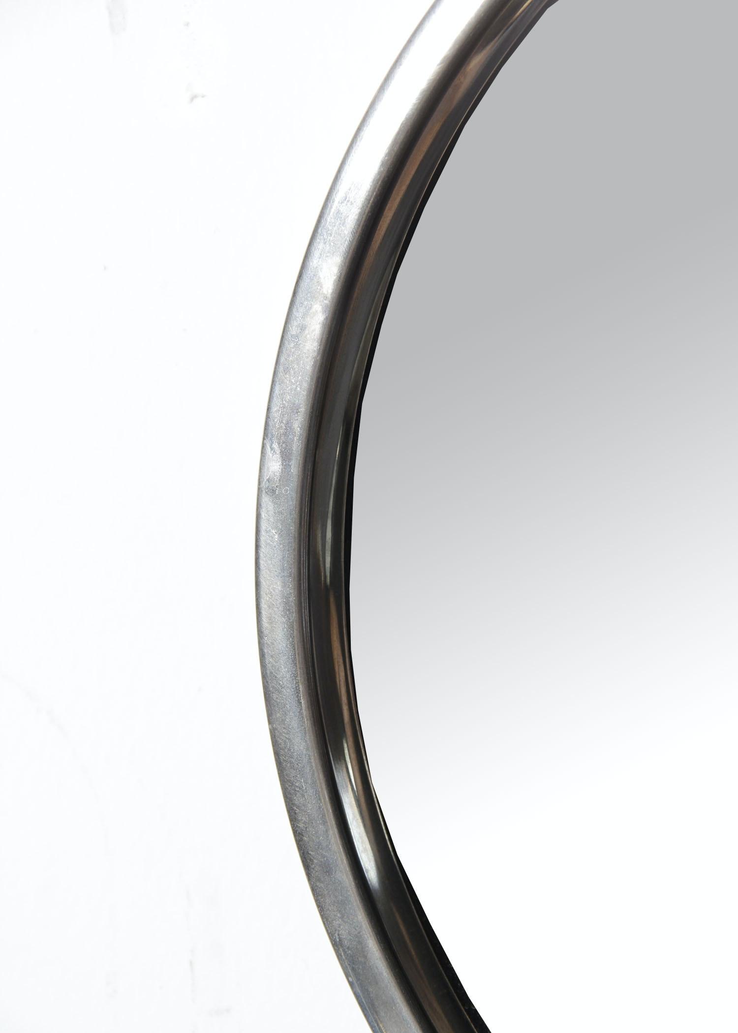 Mid Century Glasmaster Markaryd Sweden Chrome Mirror Ebth