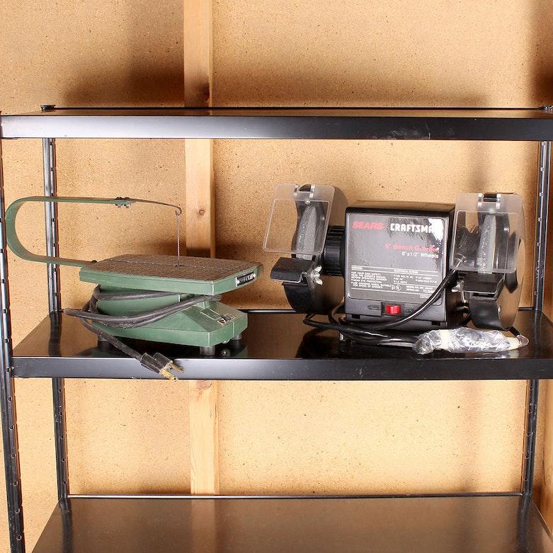 Vintage Craftsman 1 2 H P Ball Bearing Capacitor Grinder