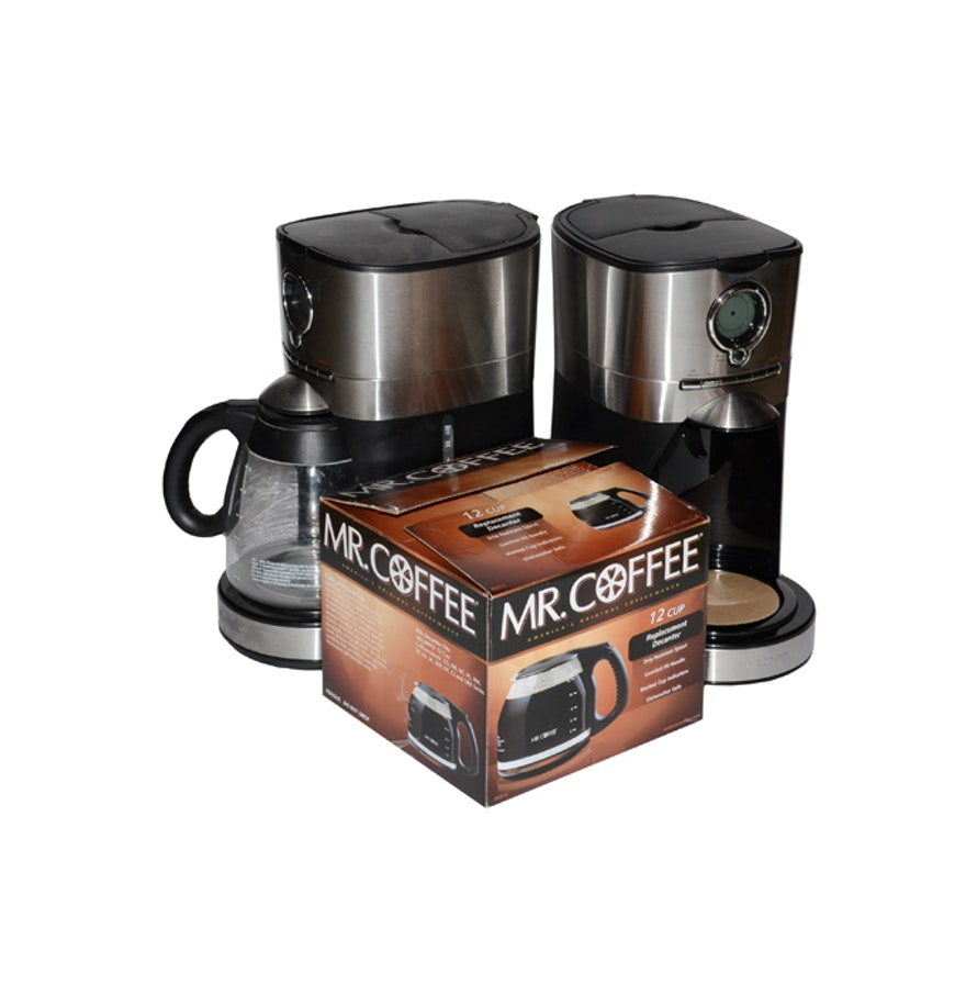 Mr Coffee Coffee Maker Without Carafe : Mr. Coffee Brewers and Carafe : EBTH