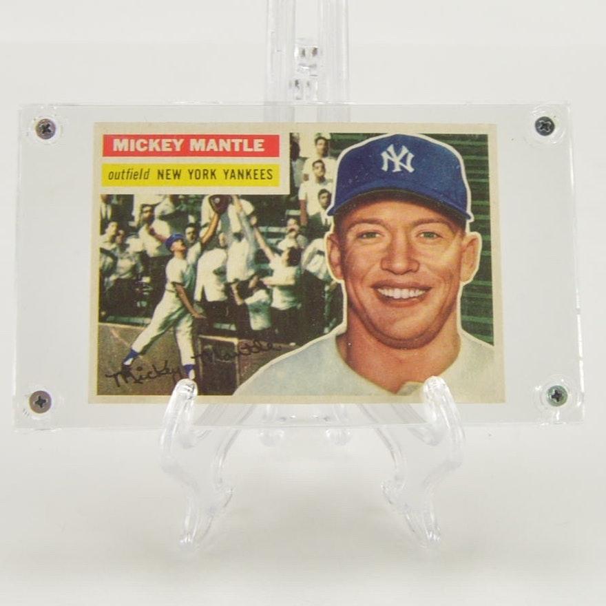 1956 Topps Mickey Mantle Baseball Card