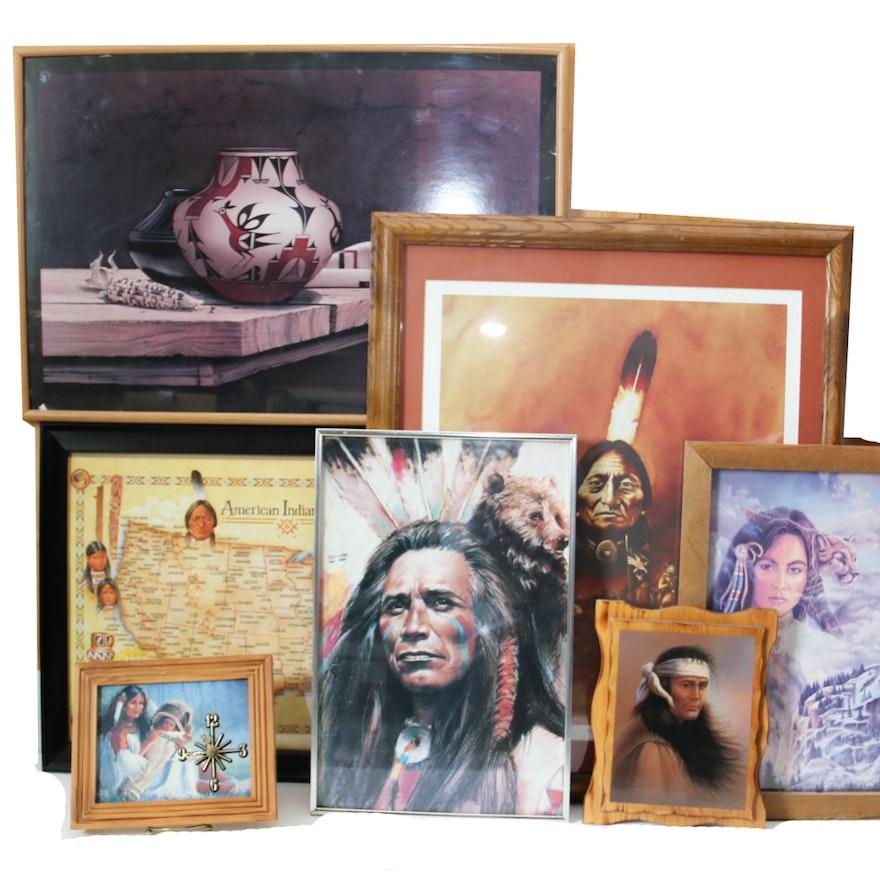Assortment of Native American Wall Art