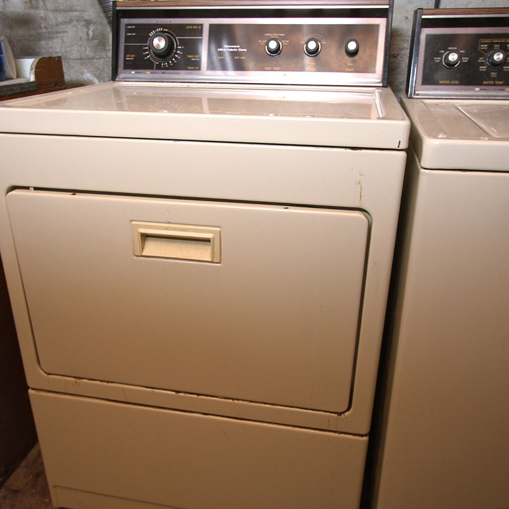 Sears Kenmore Vintage Washer And Dryer Duo