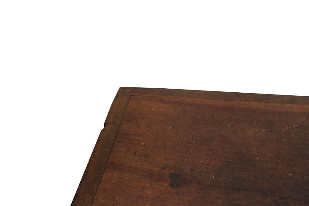 Antique Merricks Spool Cabinet On Singer Sewing Machine