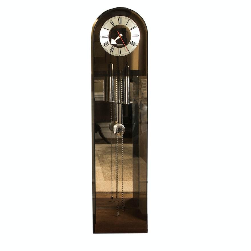 Howard Miller Contemporary Acrylic Floor Clock