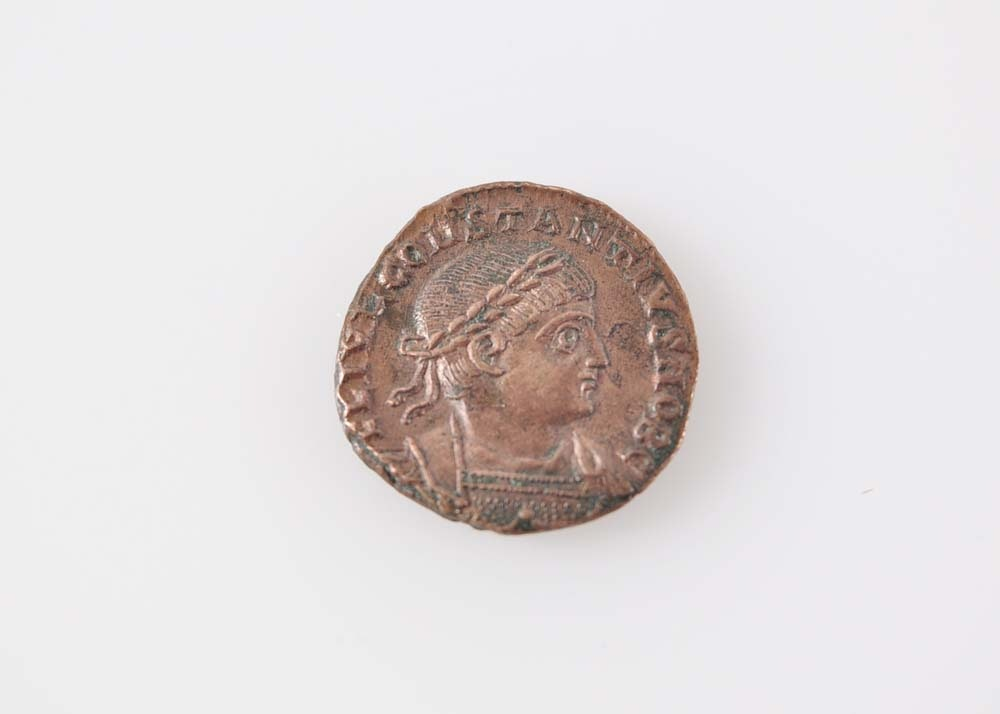 Ancient Roman Constantine II Bronze Coin