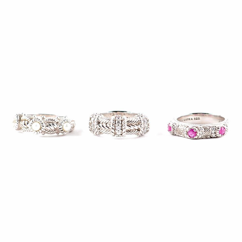 Sterling Silver Judith Ripka Women's Rings