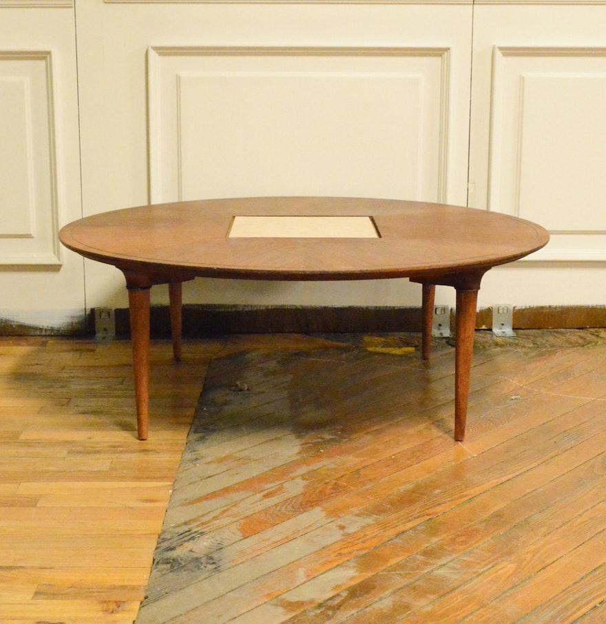 Vintage Mid Century Modern Lane Walnut Coffee Table : EBTH
