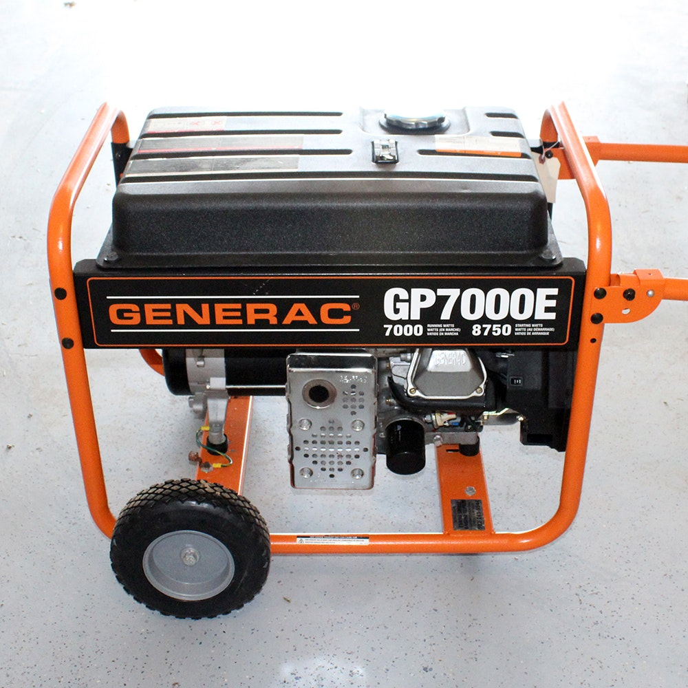 Generac gp 7000e Owners Manual