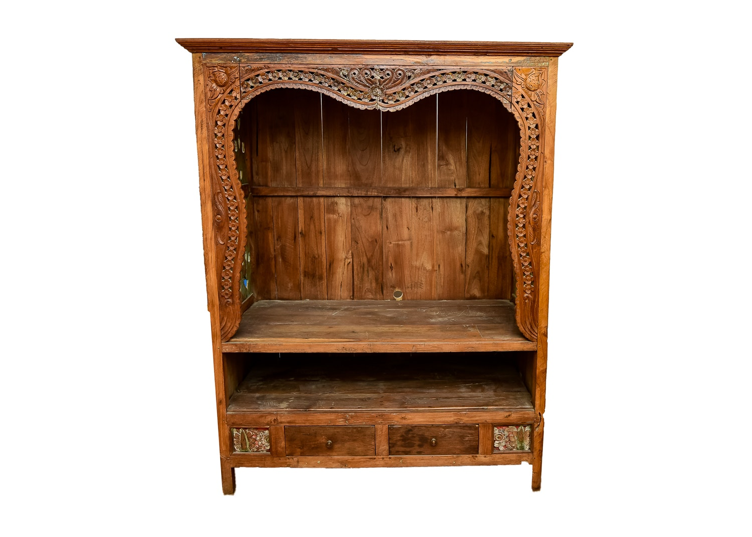 Exotic Import Carved Cabinet