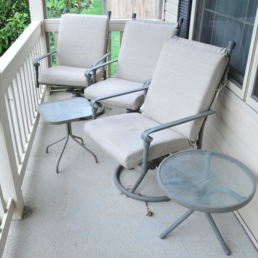 Awe Inspiring Coleman Patio Set Bralicious Painted Fabric Chair Ideas Braliciousco