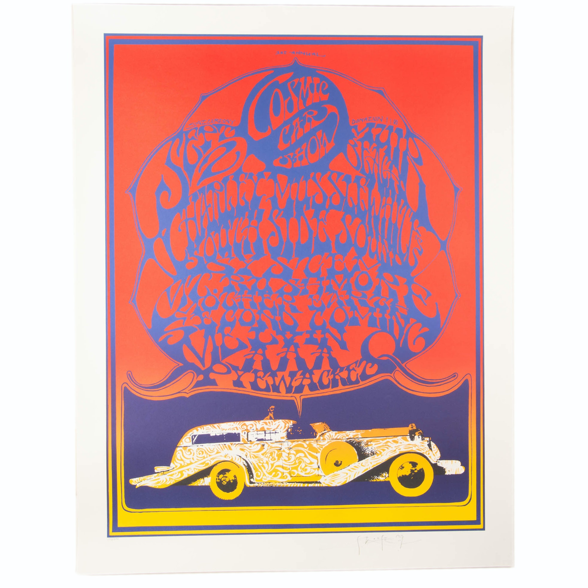 Stanley Mouse Signed Lithograph