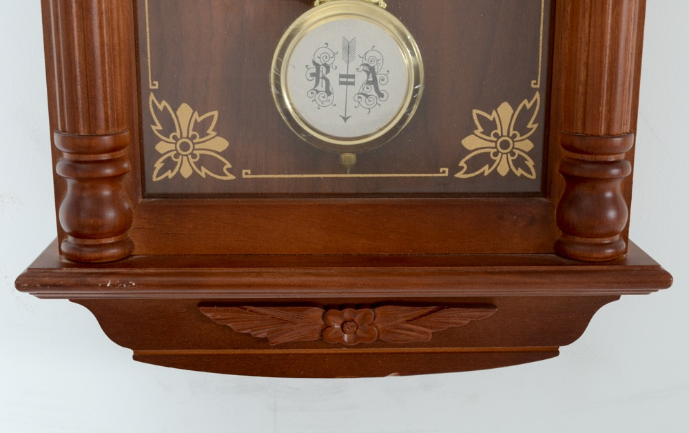 Quot Strasbourg Manor Quot Electric Wall Clock Ebth