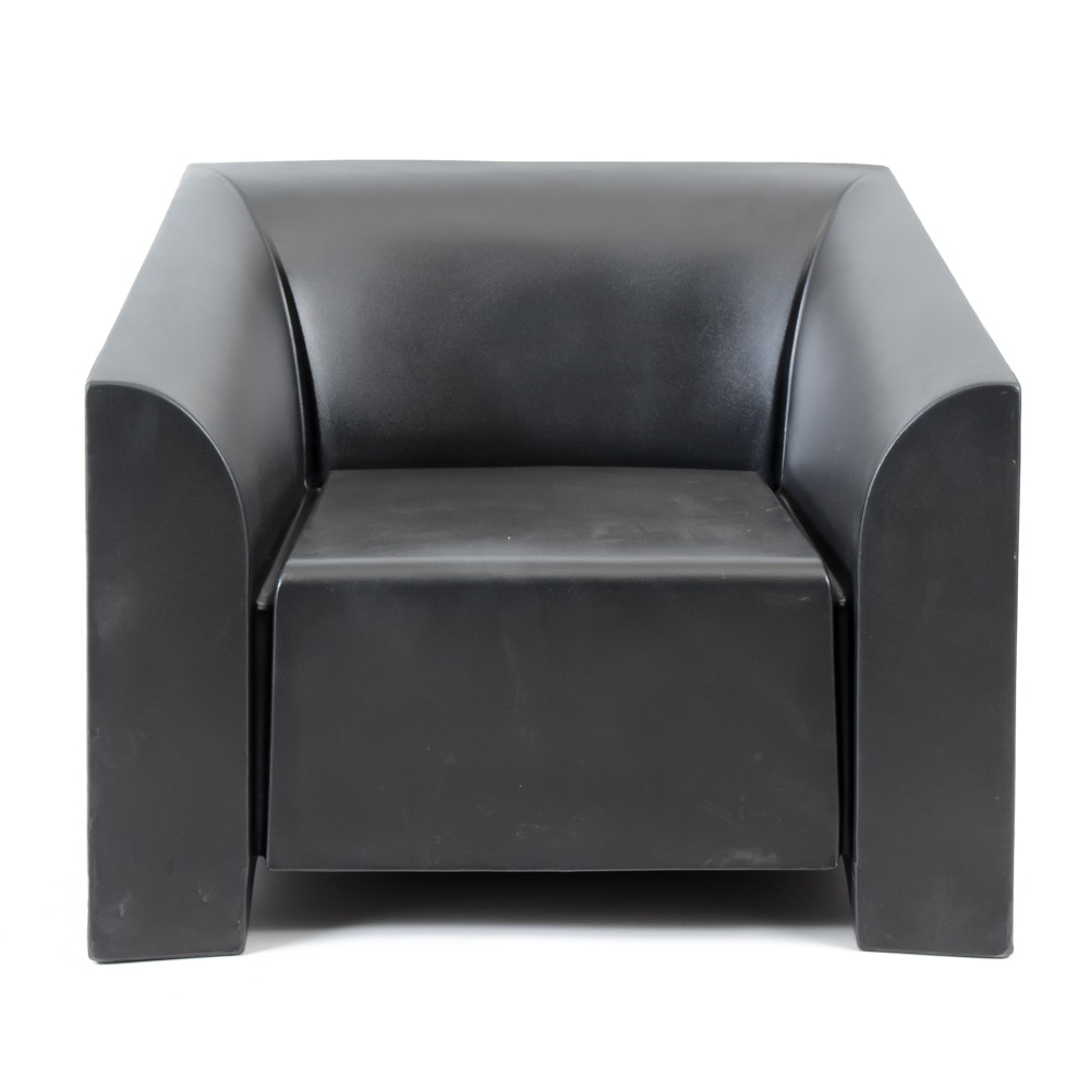 Heller Black Statement Chair Designed By Mario Bellini ...