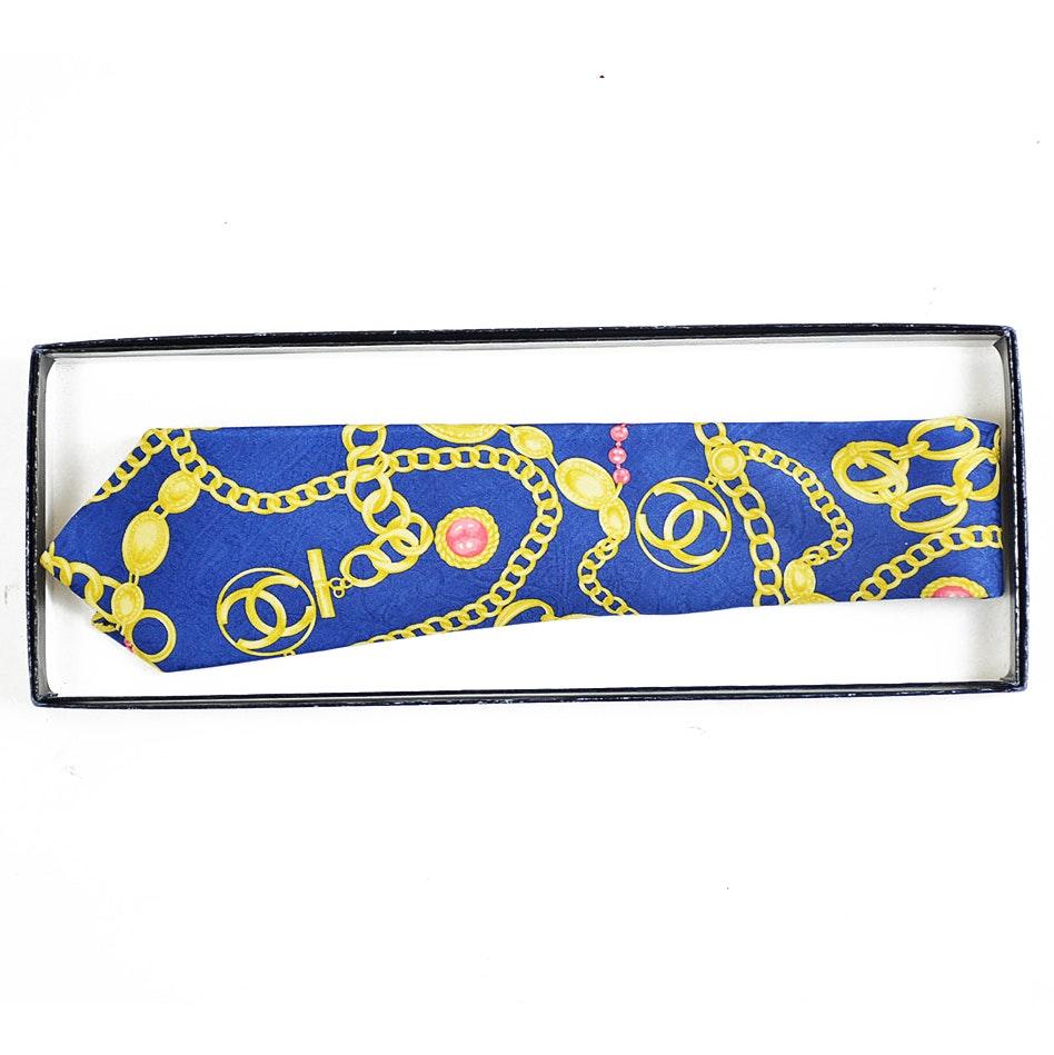 Chanel Italian Silk Tie