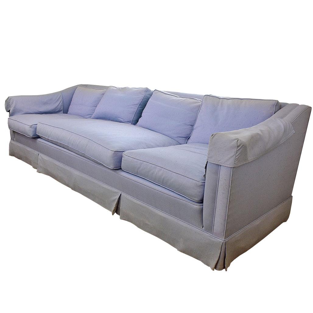 Ralph Morse Lilac Purple Down Filled Sofa ...