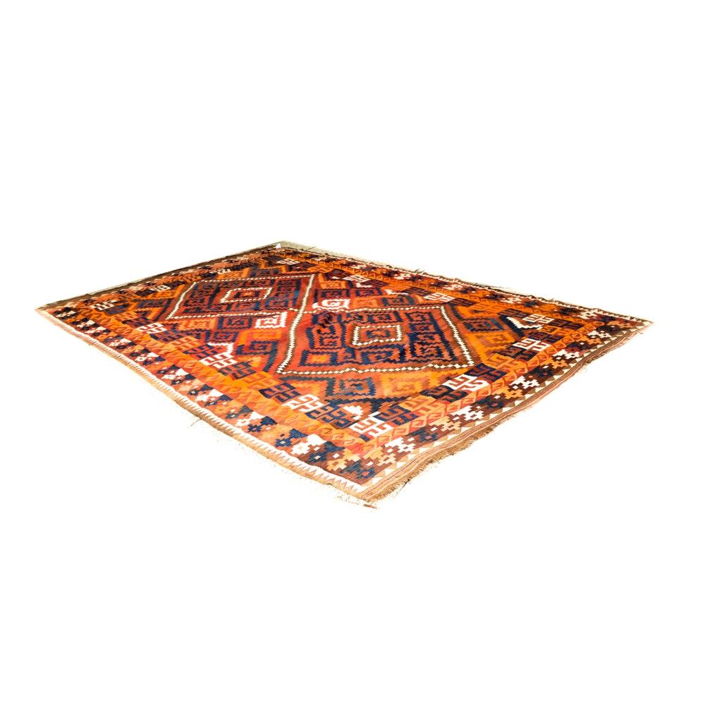 Indian Style Flatwoven Kilim Rug